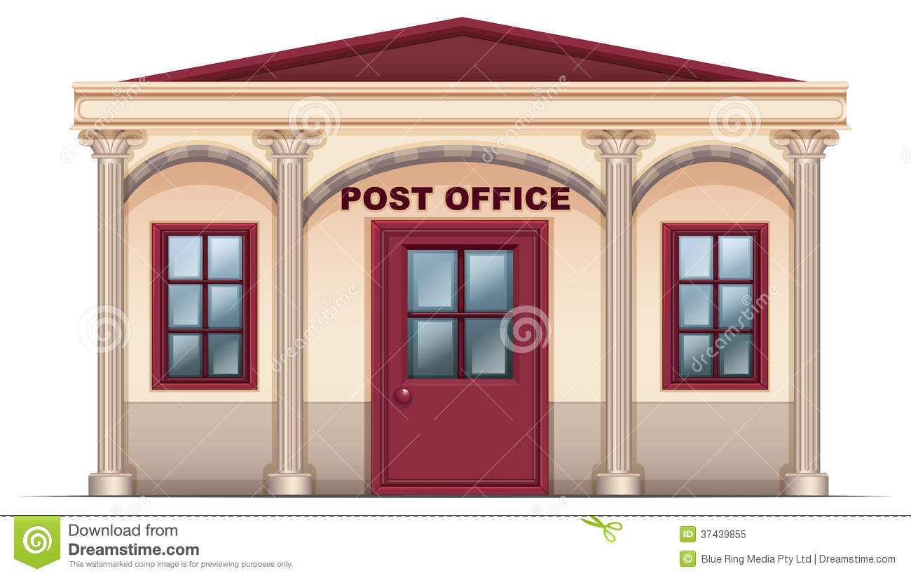 Clip Art. Post Office Clipart. Stonetire Free Clip Art Images.