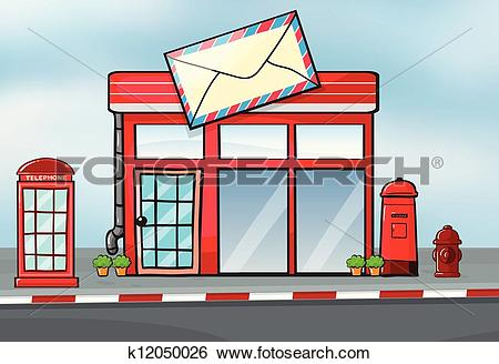 Federal post office clipart #12