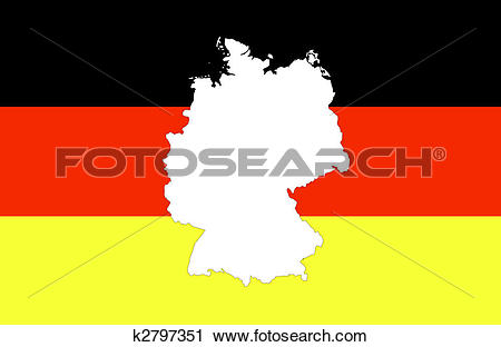 Clipart of Federal republic of Germany k2797351.