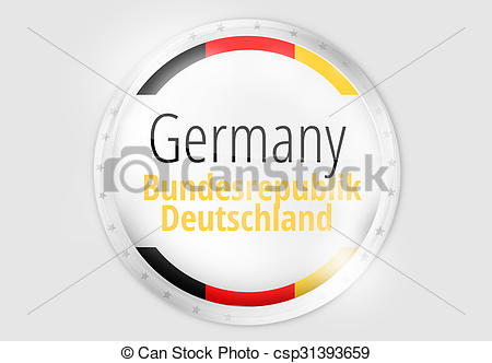 Stock Illustrations of Germany Federal Republic of Germany.