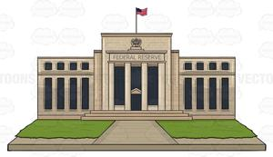 United States Federal Reserve Building.