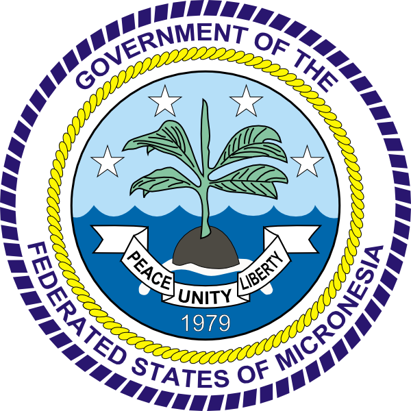 Federated states of micronesia clipart #19