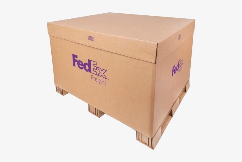Fedex Freight Box.