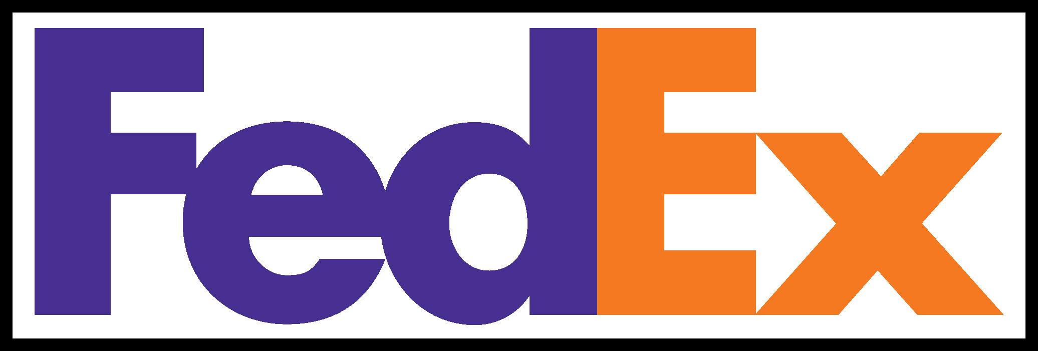 Fedex logo clipart.