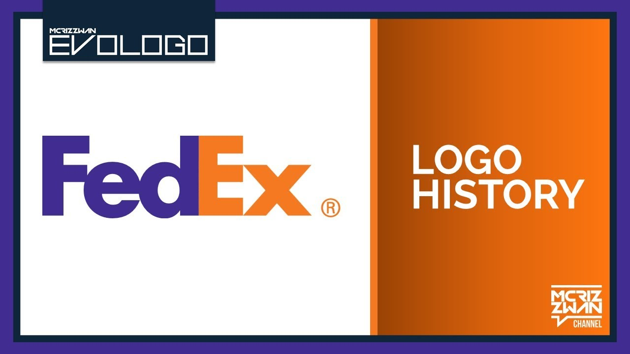 FedEx Logo History.