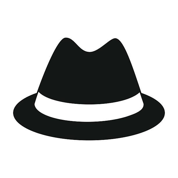 Best Fedora Hat Illustrations, Royalty.