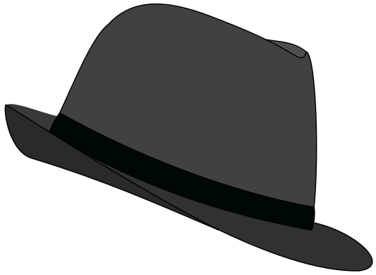 Fedora clip art clipart images gallery for free download.
