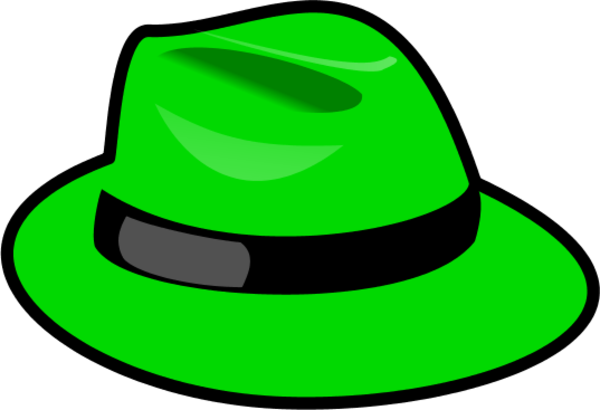 Fedora Hat Clipart.