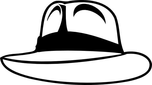 Fedora Clipart.
