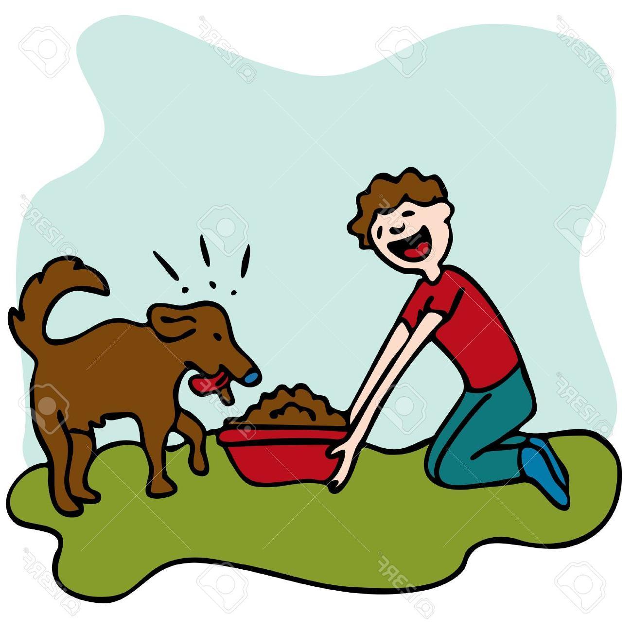 HD Feed Dog Clip Art Vector Design » Free Vector Art, Images.