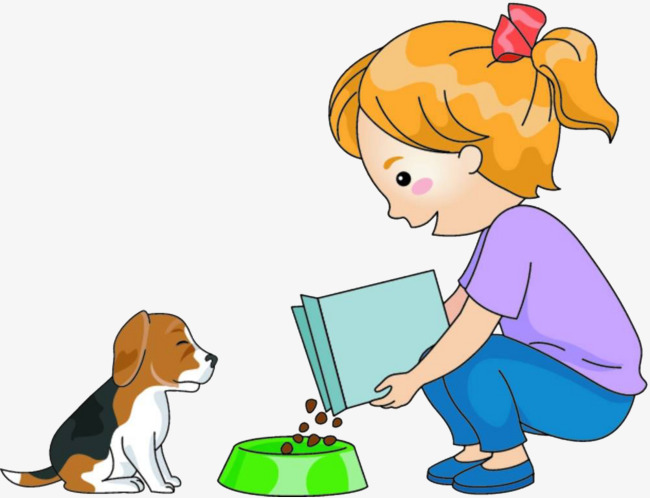 Feed dog clipart 8 » Clipart Station.