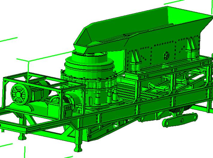 1/64th Crusher trailer Feed hopper (KMCG8TFNT) by modelmechanic.