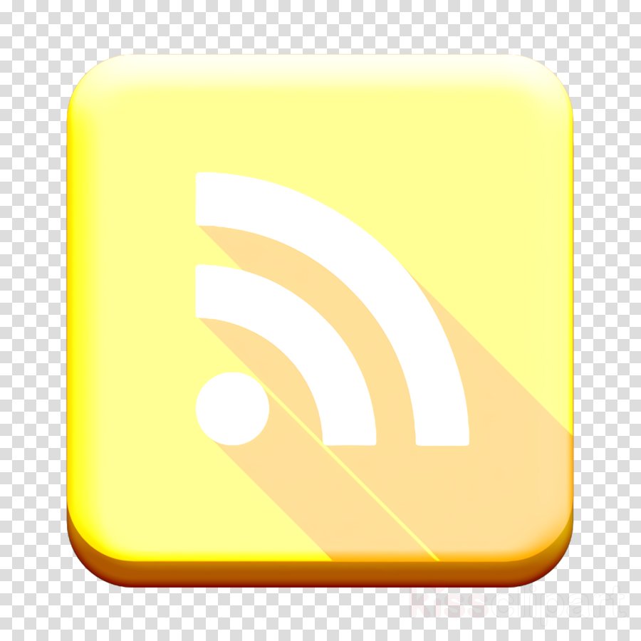 rss icon rss feed icon clipart.