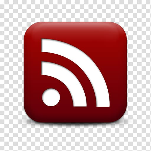 RSS Computer Icons Web feed Blog, Red Rss Logo Icon.