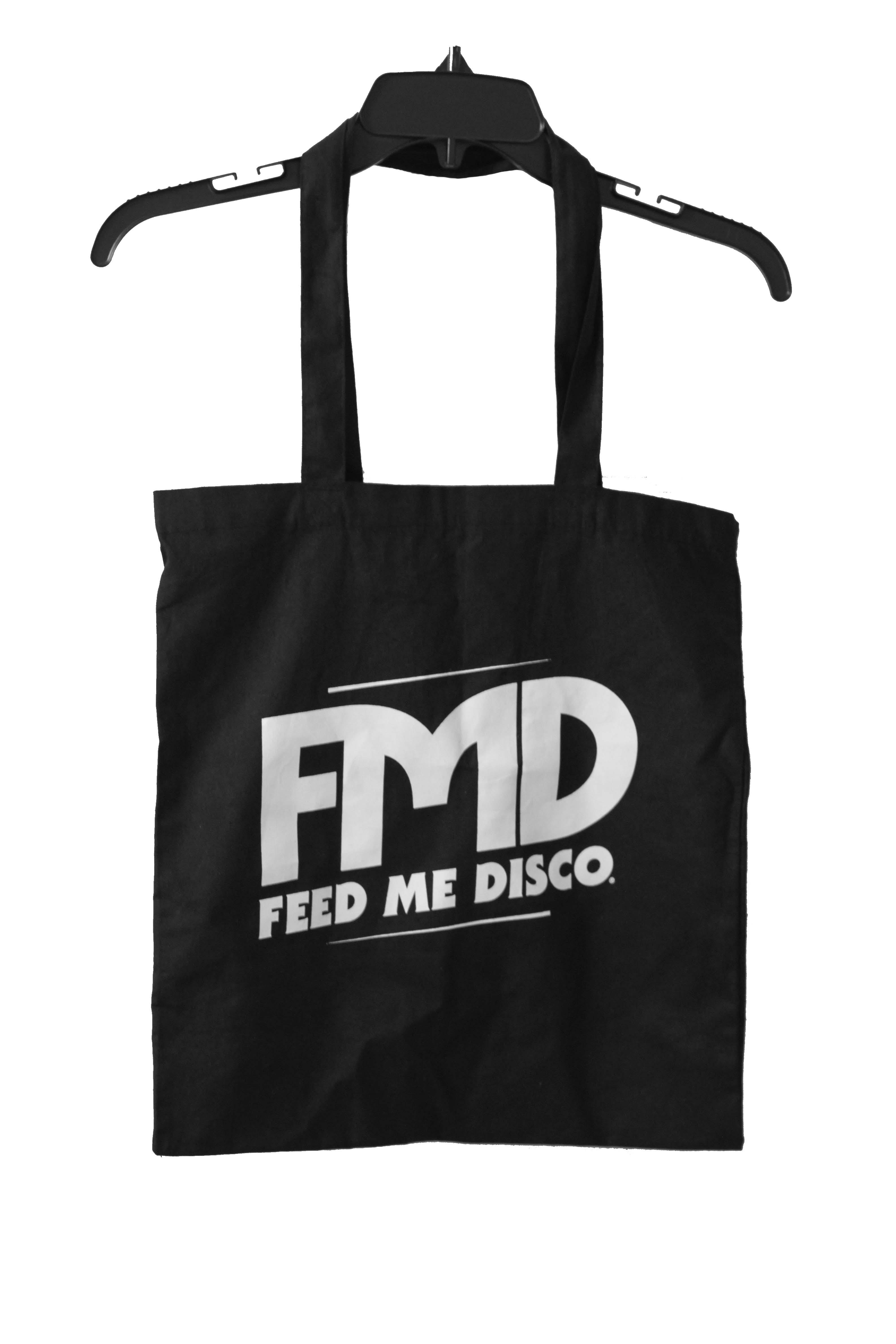 Feed Me Disco Logo Tote.