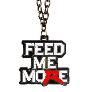 Details about WWE RYBACK FEED ME MORE PENDANT OFFICIAL NEW.