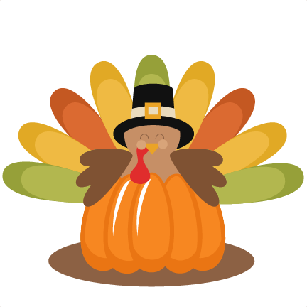 Thanksgiving Pumpkin Clipart.