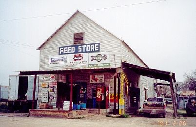Feed Store.