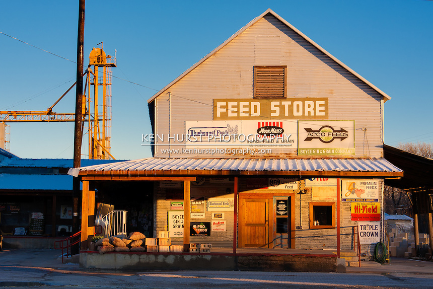 Rural Feed Store.