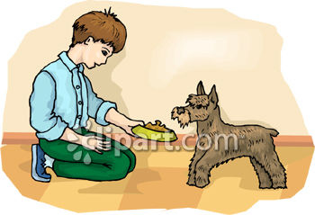 Feed dog clipart 6 » Clipart Station.