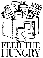 Feed The Hungry Clipart.
