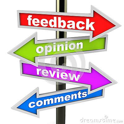Customer feedback clipart.