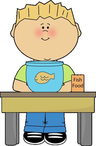 Fish feeder clipart.