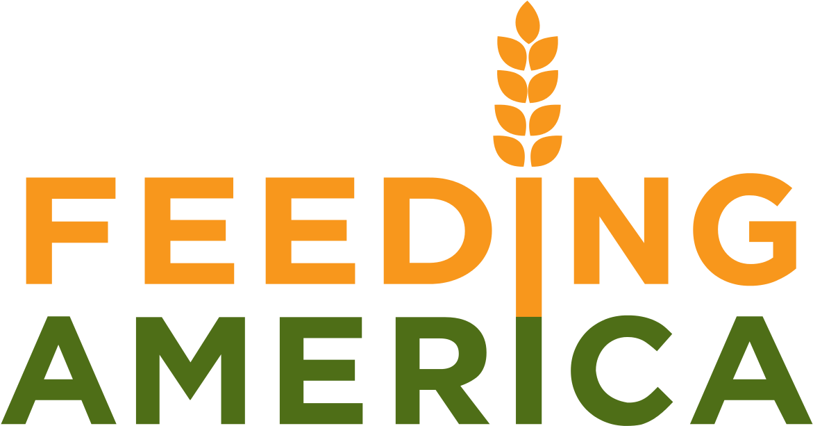 Logo For Feeding America.