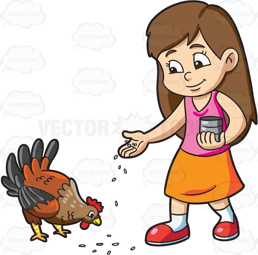 Feeding animals clipart 8 » Clipart Portal.