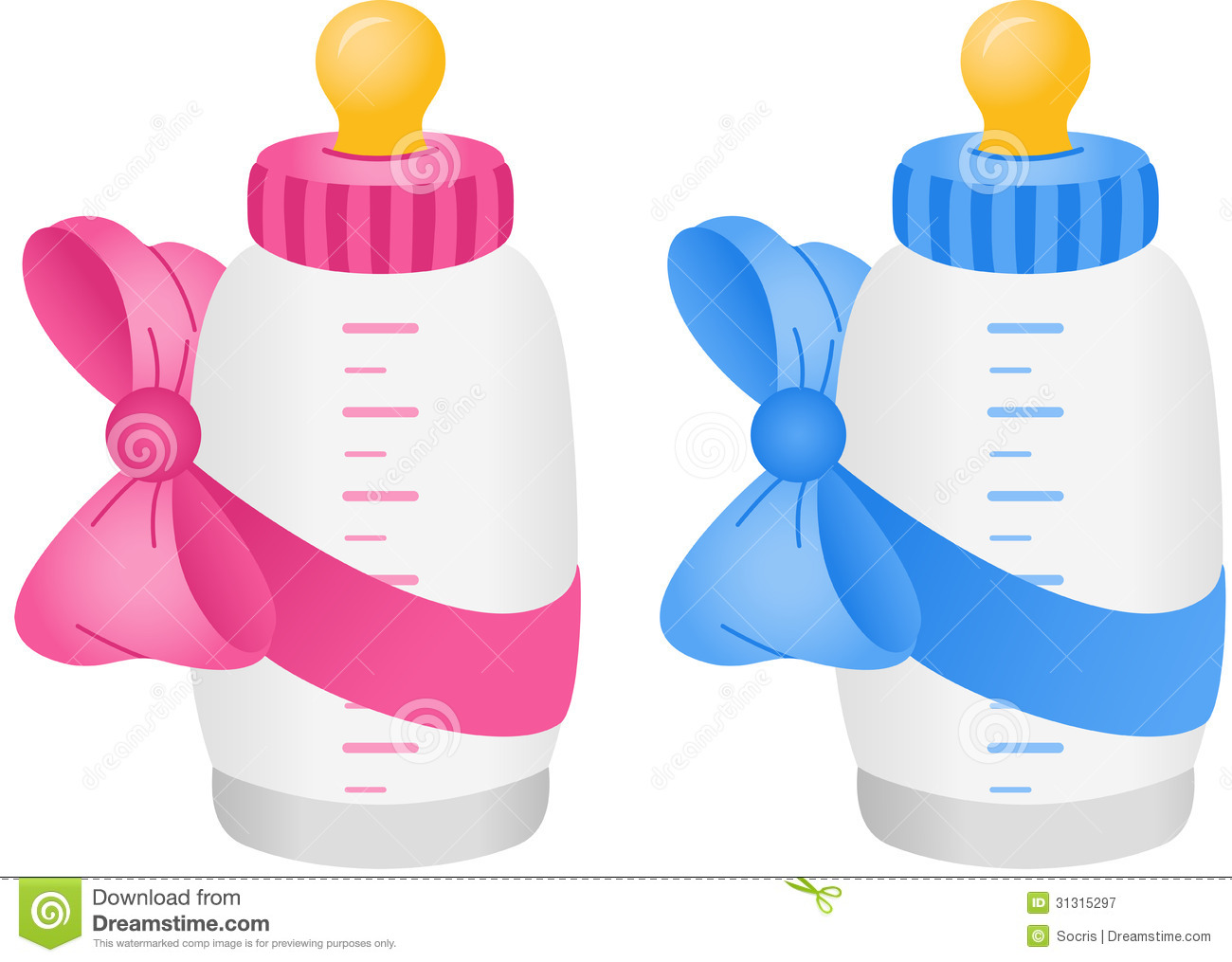 Baby Bottle Clipart.