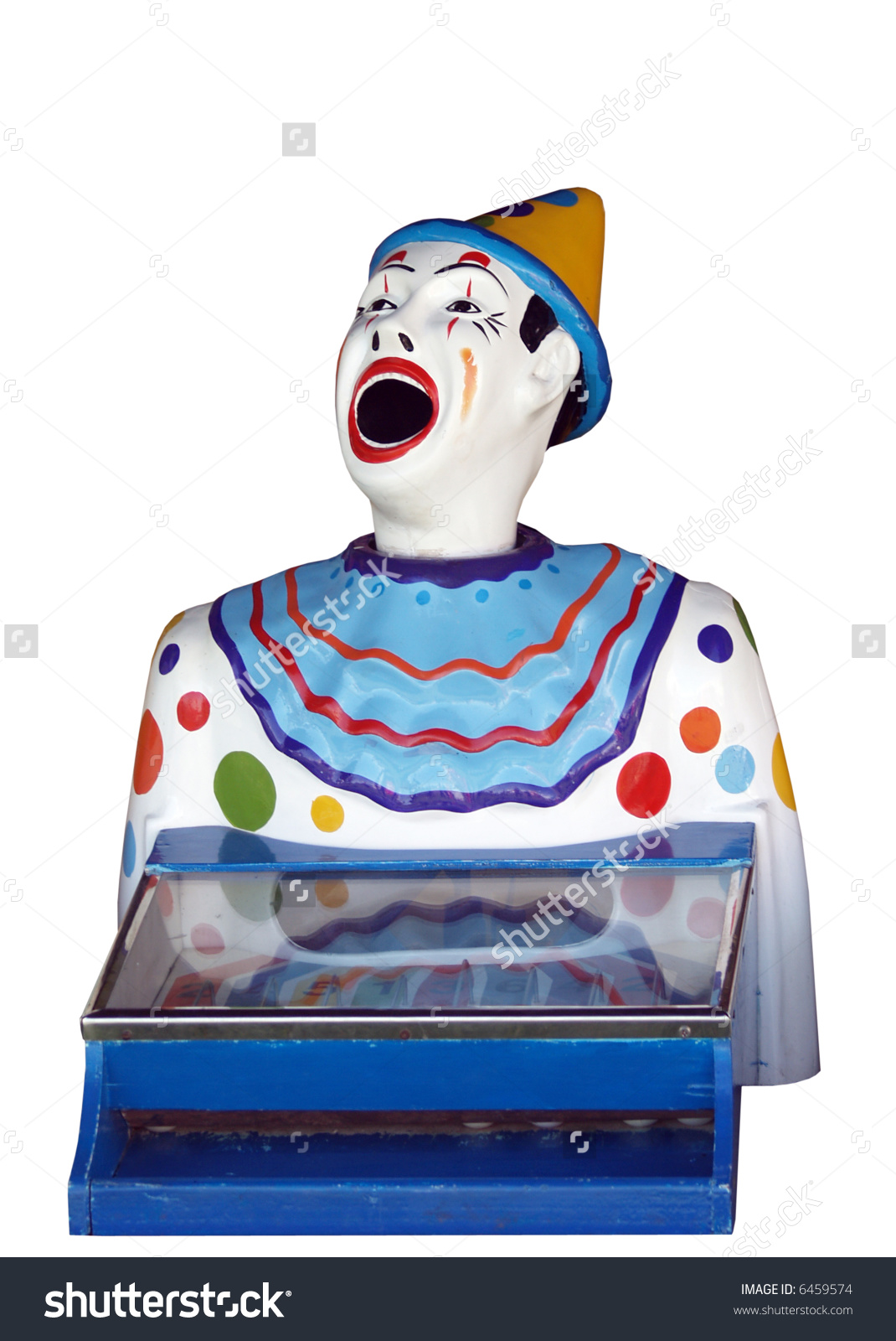 A Feed The Clown Carnival Game Stock Photo 6459574 : Shutterstock.
