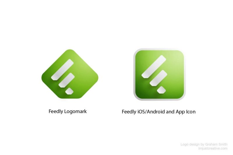 Feedly Logo & Application Icons Designed by The Logo Smith.