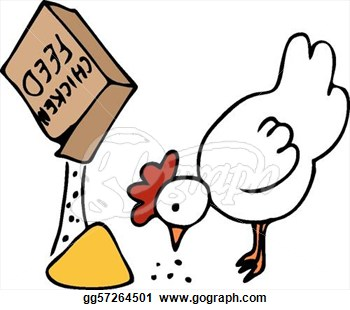 Chicken Feed Clipart.