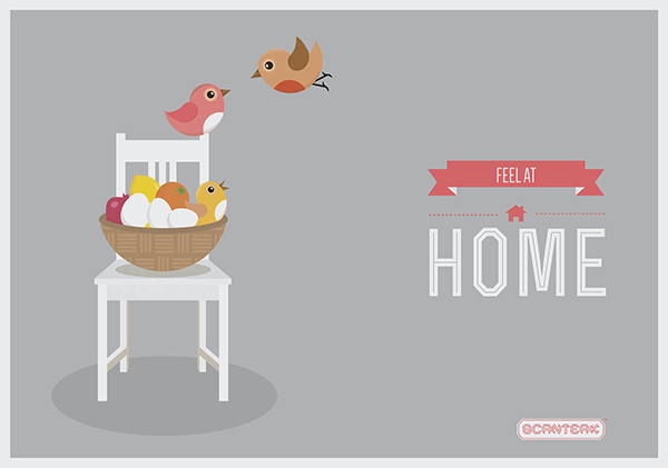 Feel At Home on Behance.