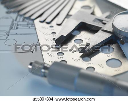 Stock Photo of Engineering design.