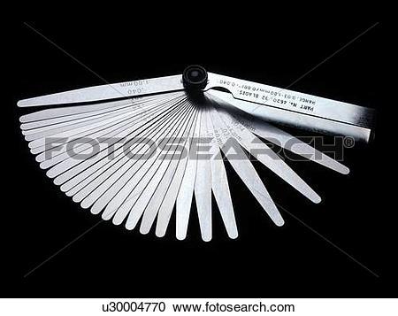 Stock Photography of Feeler gauge. u30004770.