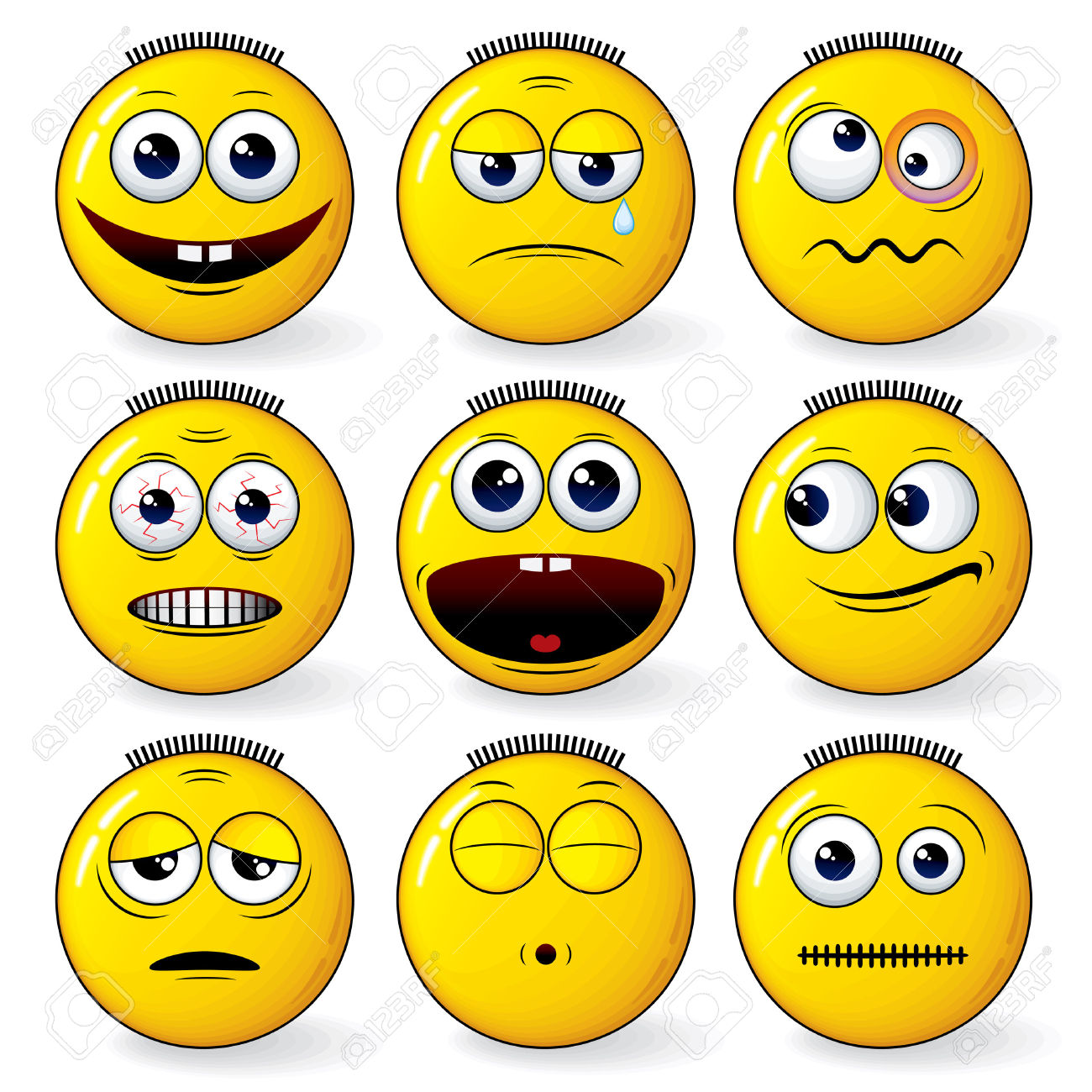 Animated feelings clipart.