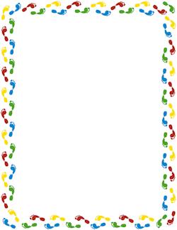 Free Footprint Border Cliparts, Download Free Clip Art, Free Clip.