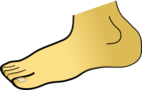 Foot Clipart.