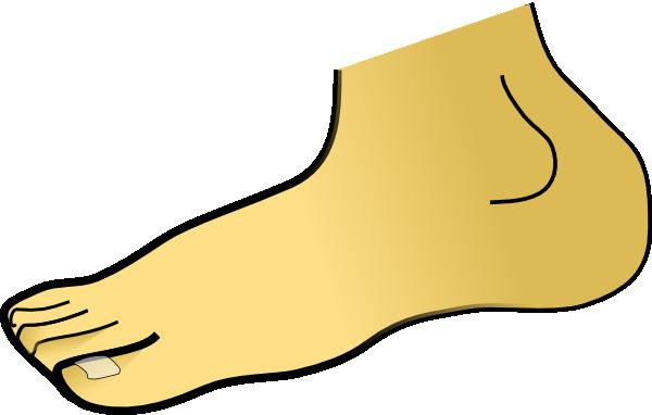 Foot Clipart.