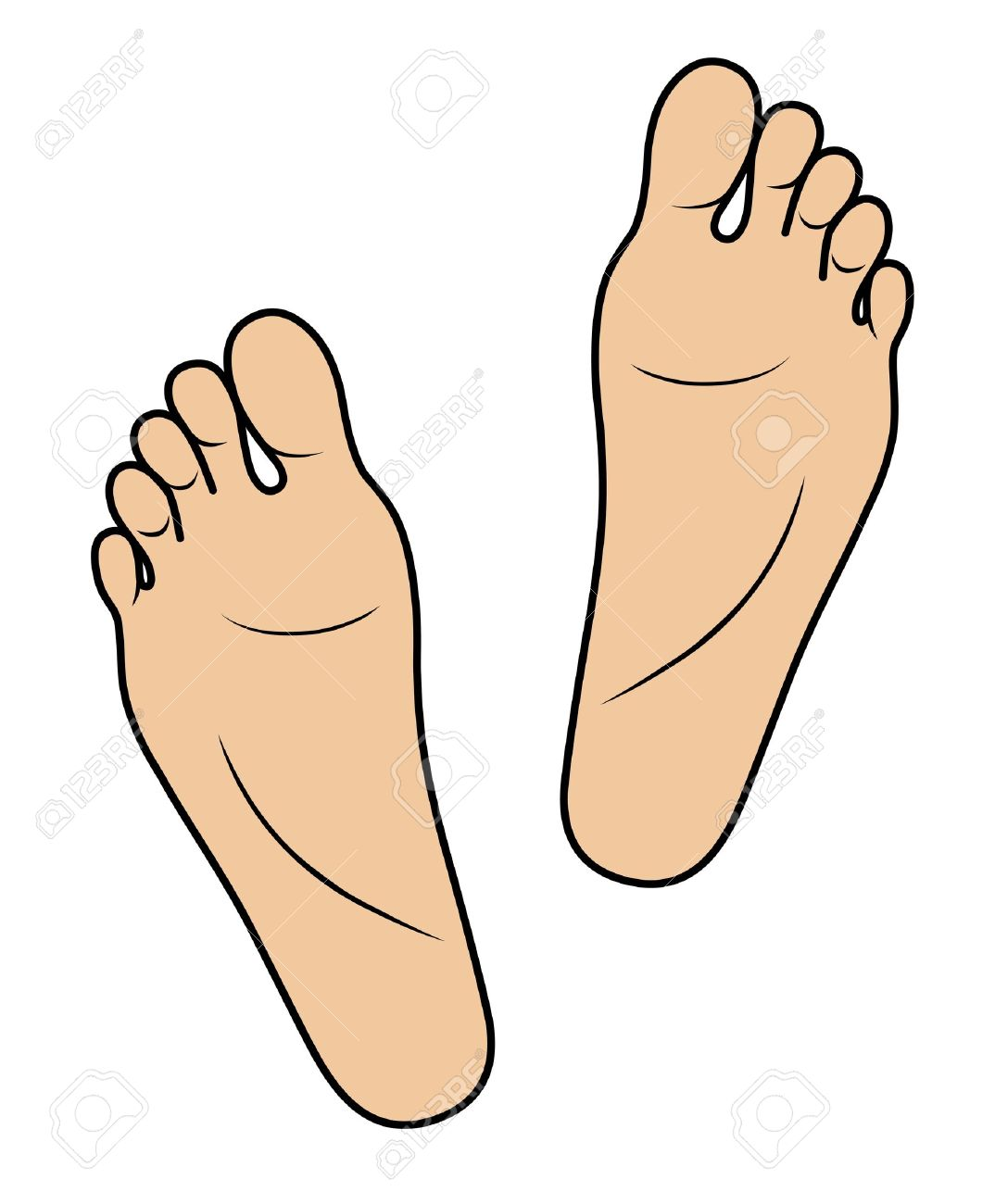 Free Feet Clipart.
