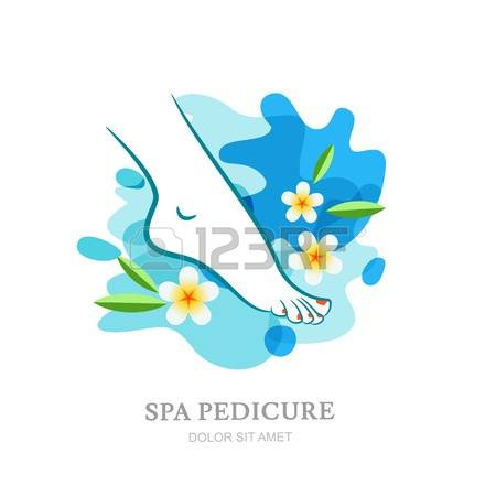696 Lady Feet In Water Stock Vector Illustration And Royalty Free.