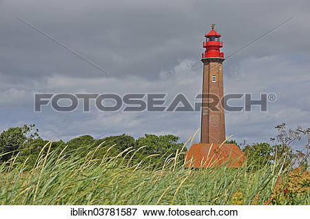 "Picture of ""Flugge Lighthouse, Flugge, Fehmarn, Schleswig."