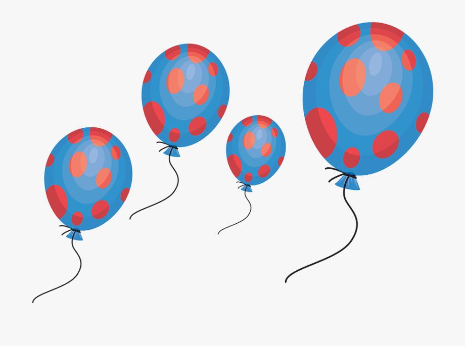 Balloon Celebration Clipart Party Holiday Birthday.
