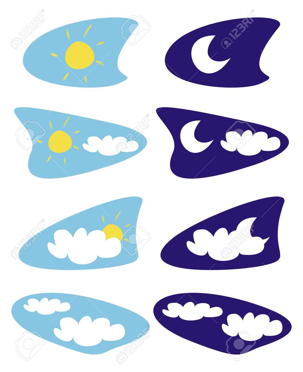 Nap, A Hold és A Felhők.