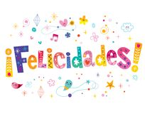 Felicidades Stock Illustrations.