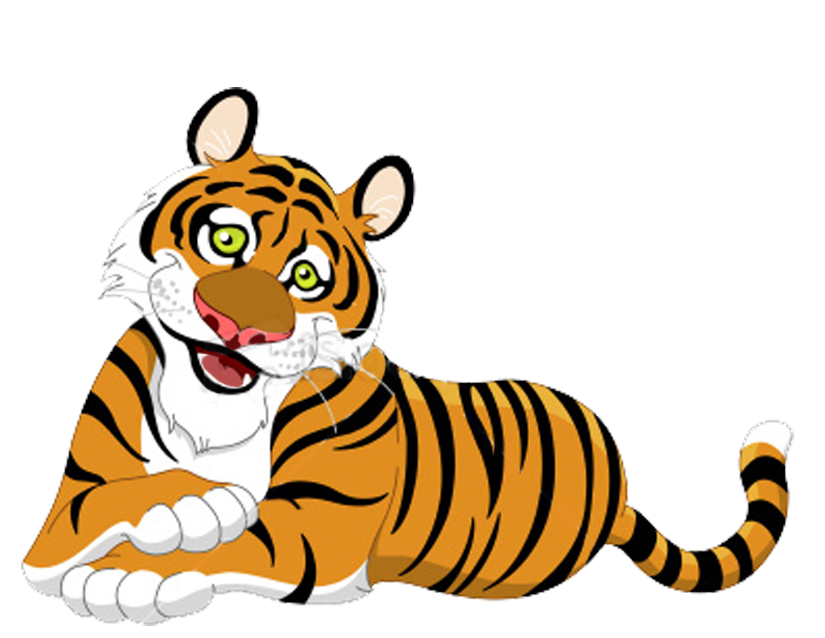 lion and tiger clipart #5