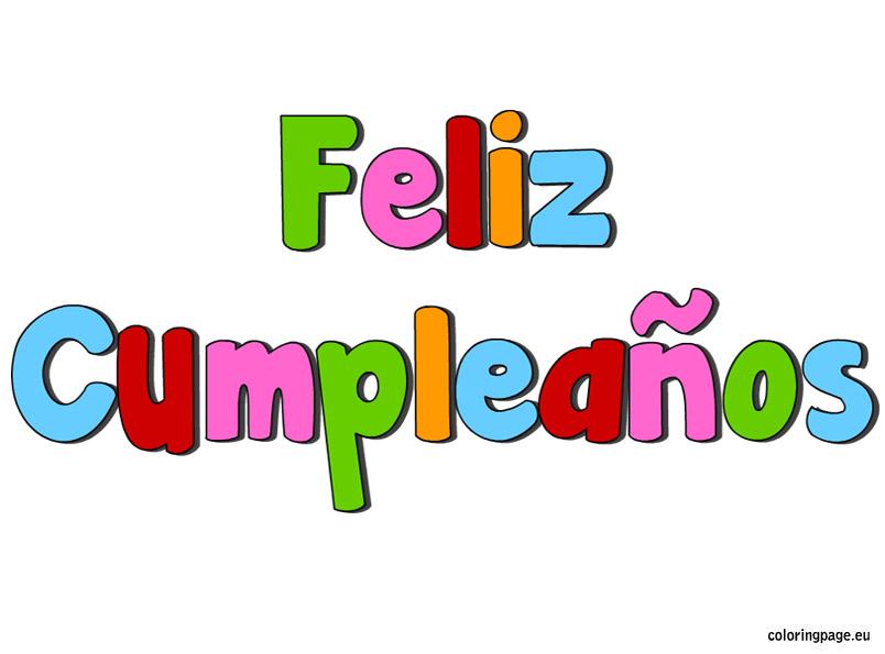 Free clipart feliz cumpleanos.