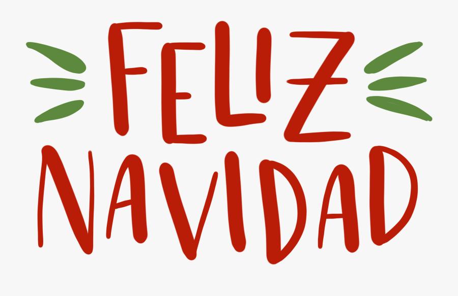 Feliz Navidad Clip Art , Free Transparent Clipart.