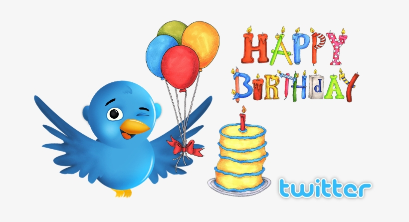 Feliz Cumpleaños Twitter.
